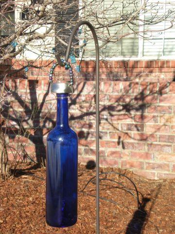 Wine Bottle Solar Lantern