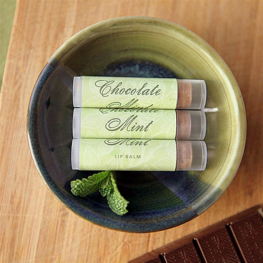 Chocolate Mint Lip Balm