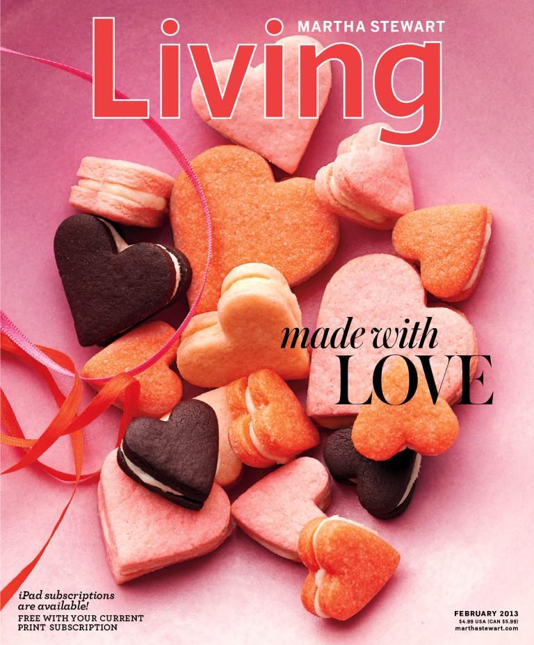 Martha Stewart Living February 2013