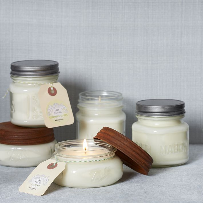 Wedding Favor Tags For Candles : Take for example these jar candles from West elm Market. Beautiful ...