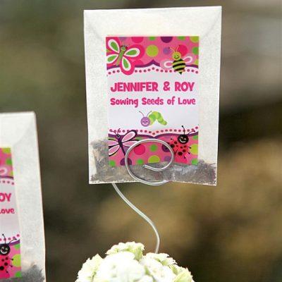 30+ Sweet Handmade Ideas for Garden Wedding Favors