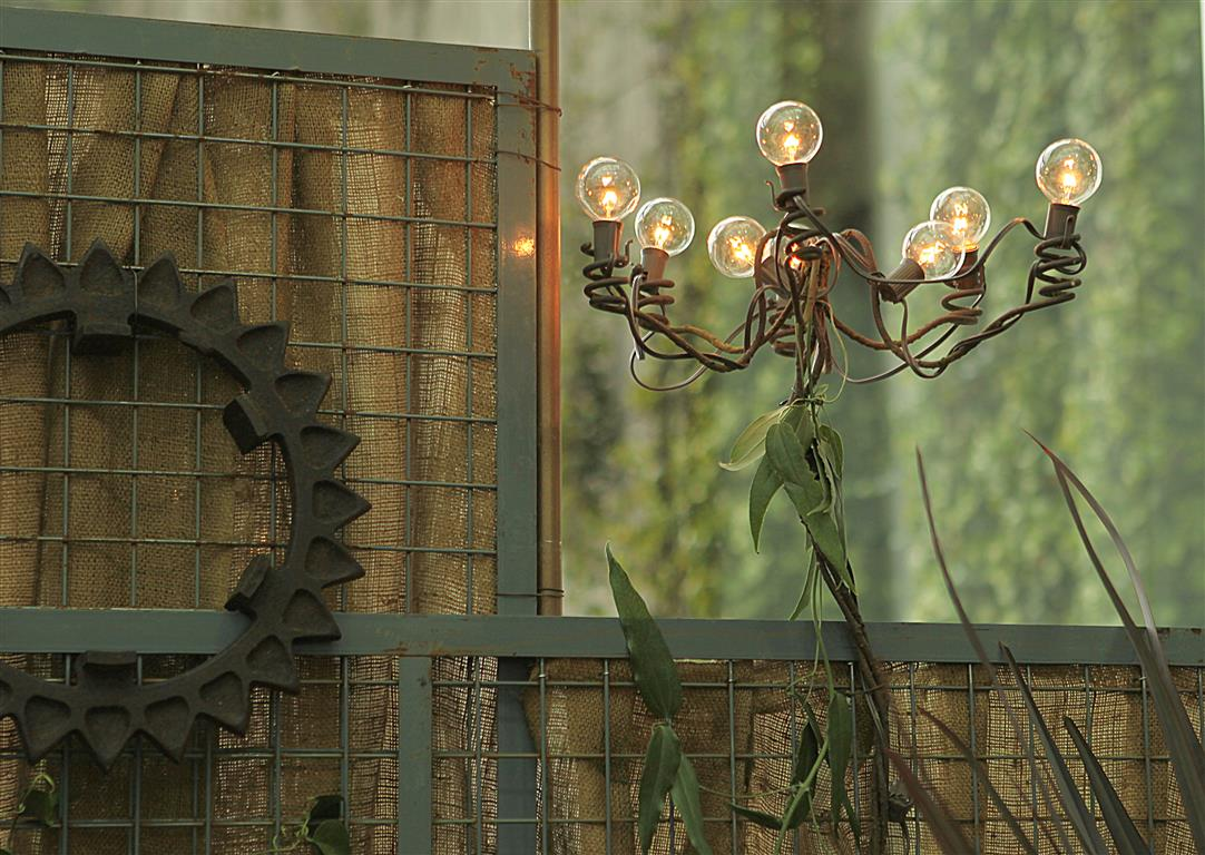 Recycyled Garden Lighting