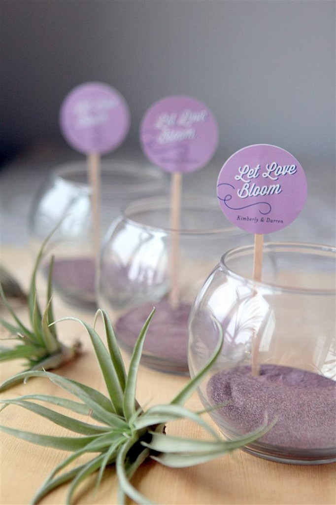 terrarium wedding favor