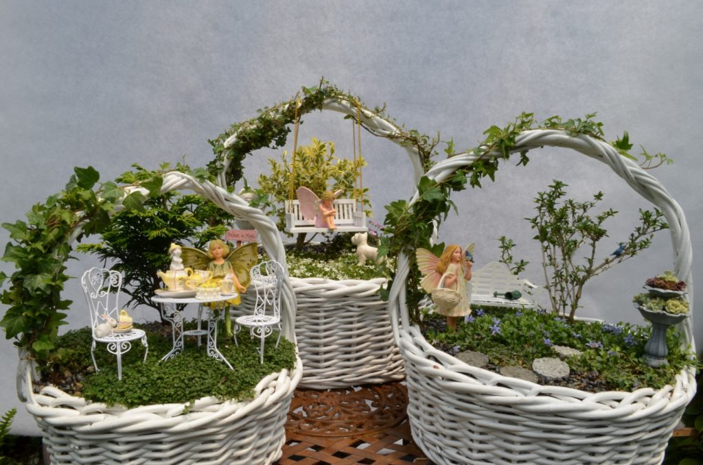 Easter Basket Fairy Garden Therapy