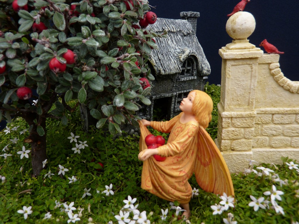 Fairy with Apple Tree