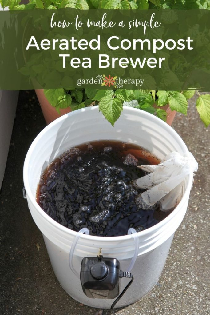 Make Compost Tea With This DIY Home Brewer