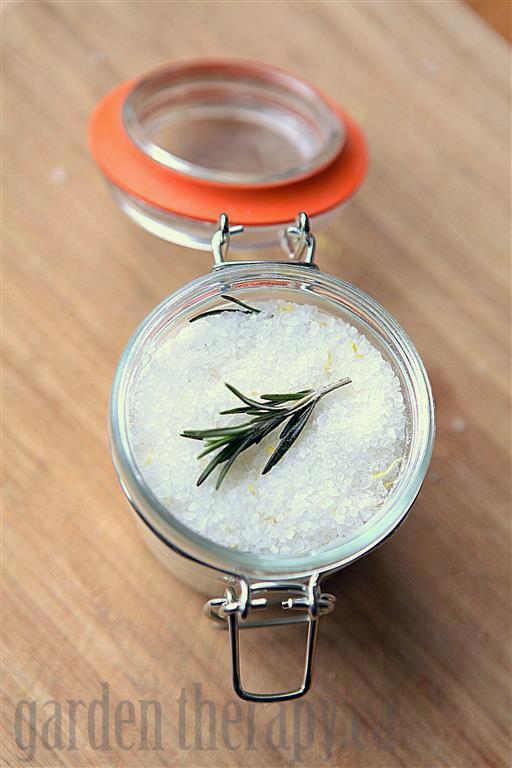 Rosemary Infused Sea Salt Recipe