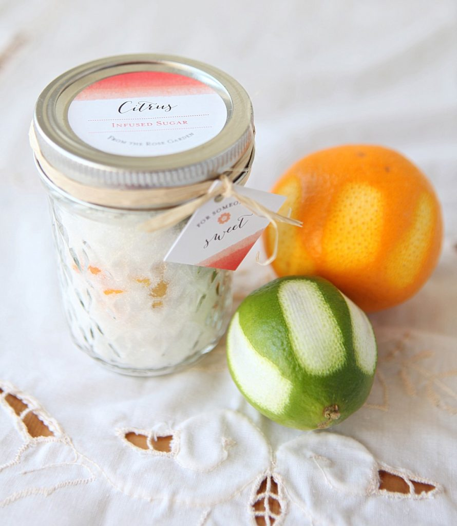 Citrus Infused Sugar