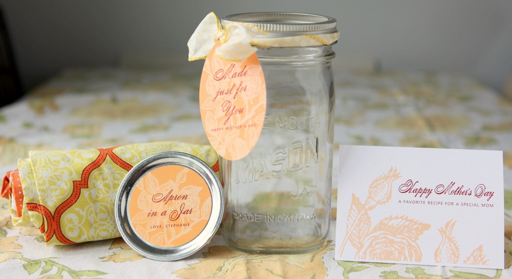 DIY Apron in a Jar Ingredients