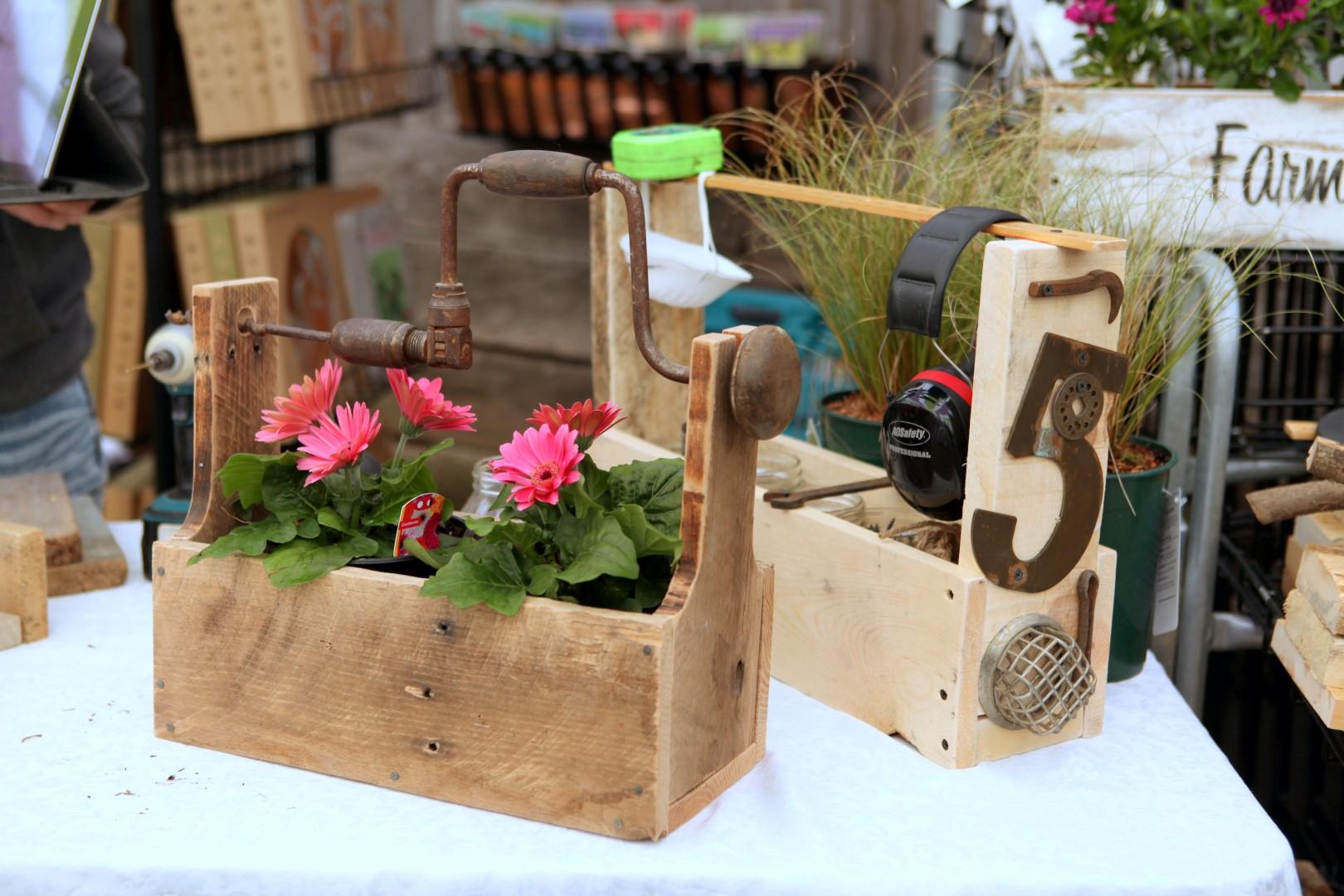 It 39 s a garden party garden therapy for Funky garden designs