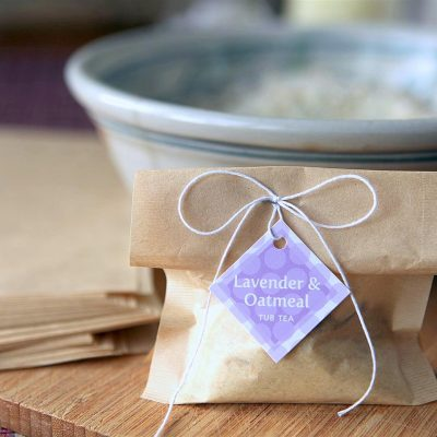 Lavender and Oatmeal Tub Teas