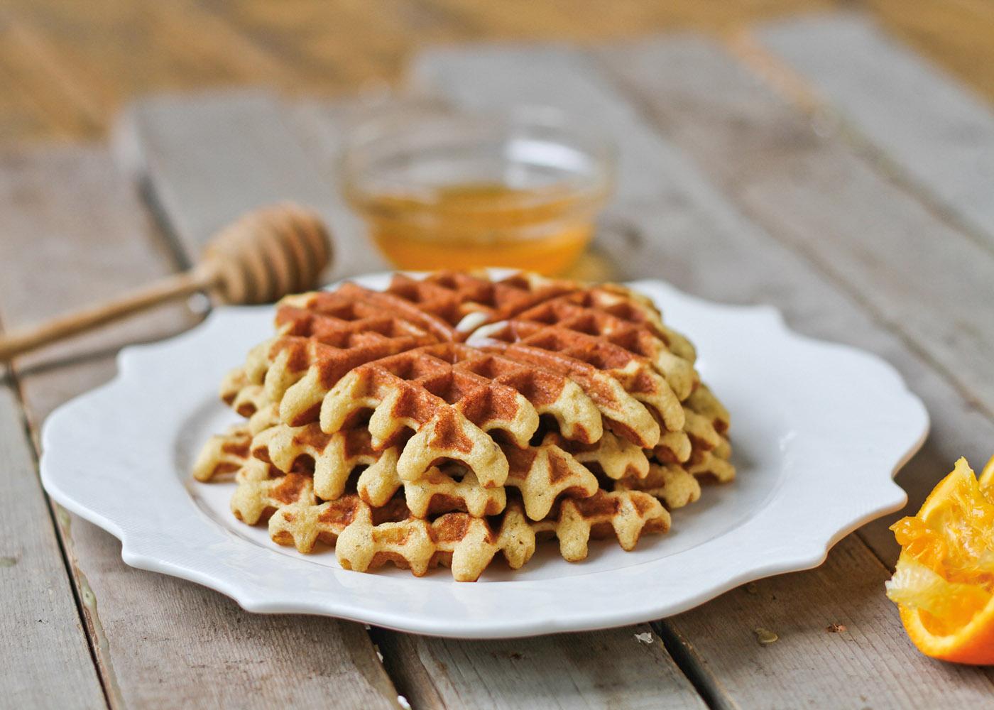 SCD AlmondWaffles