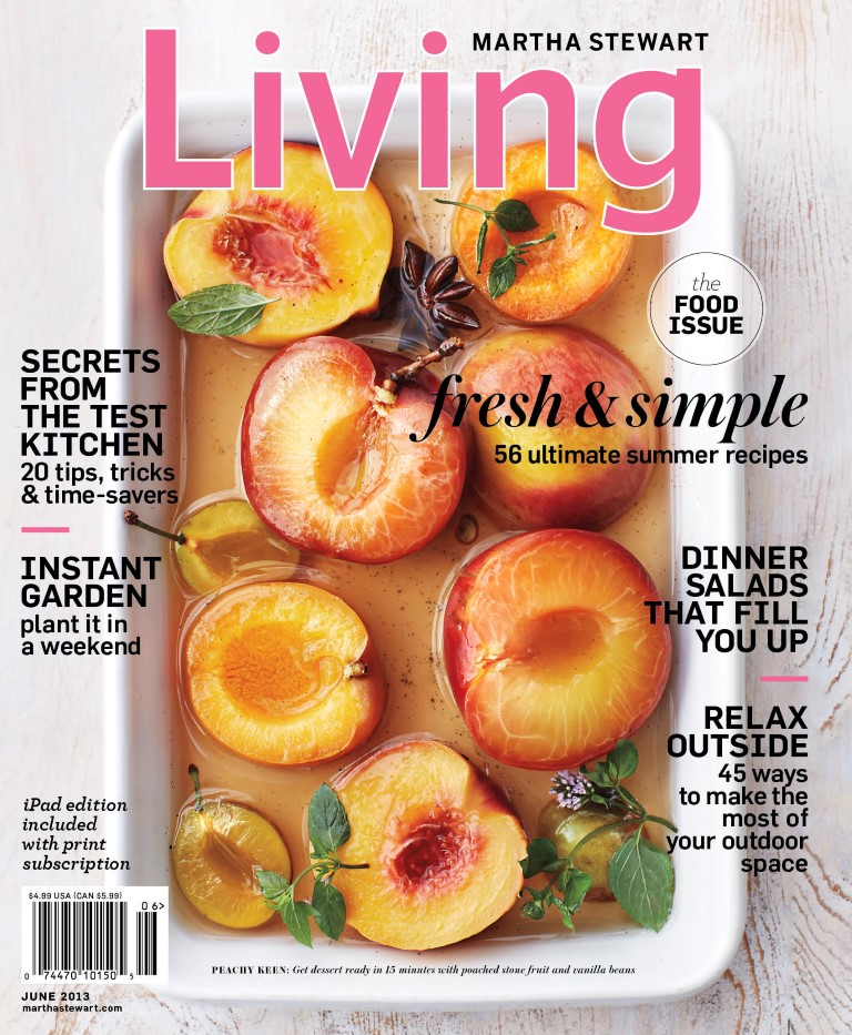 Martha Stewart Living June 2013