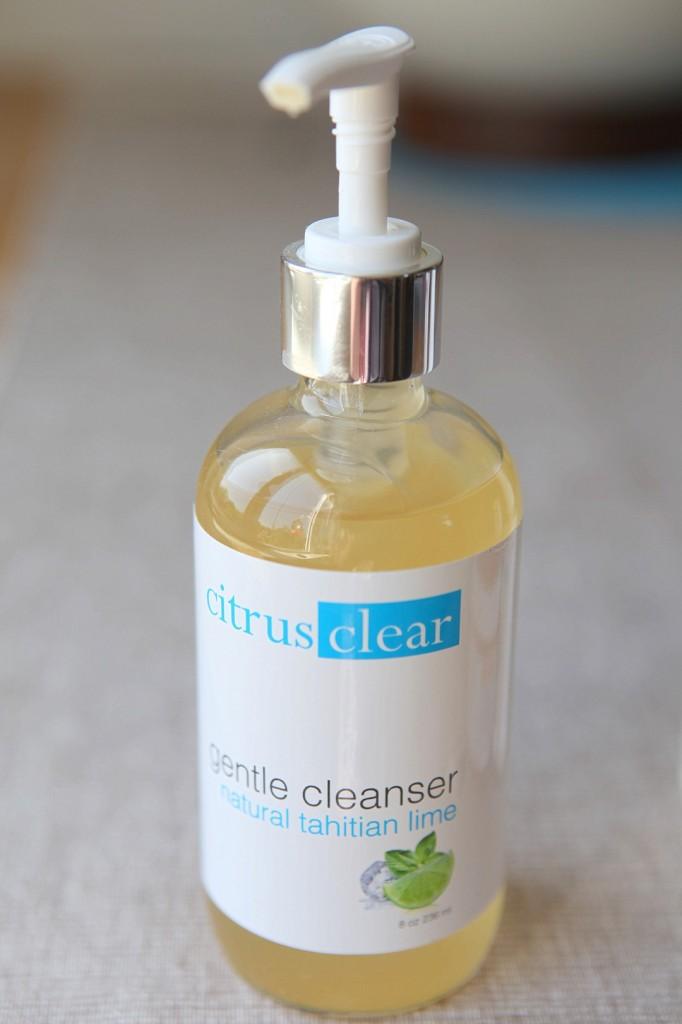 citrus clear sensitive skin cleanser