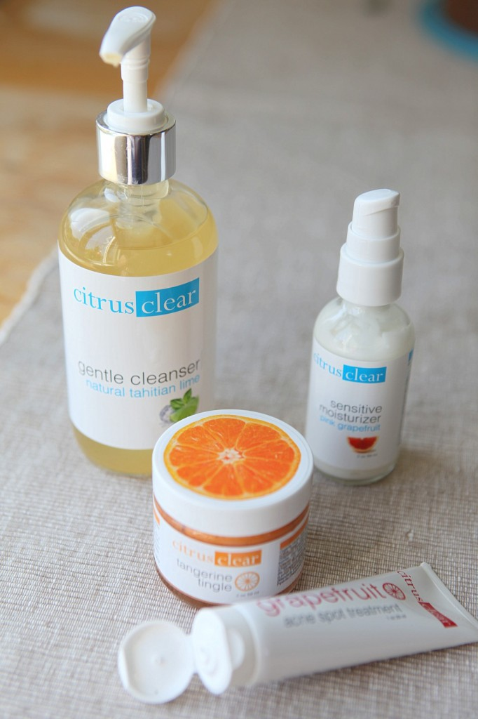 citrus clear sensitive skin cleansing system