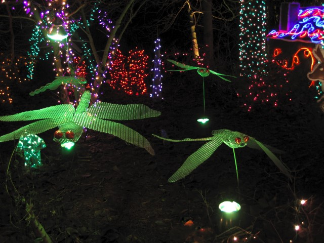 Adding Lighted Creatures to the Garden