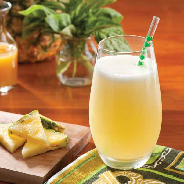 Pineapple Basil Soda Recipe
