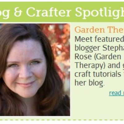 Garden Therapy Spotlight in Country Woman Magazine