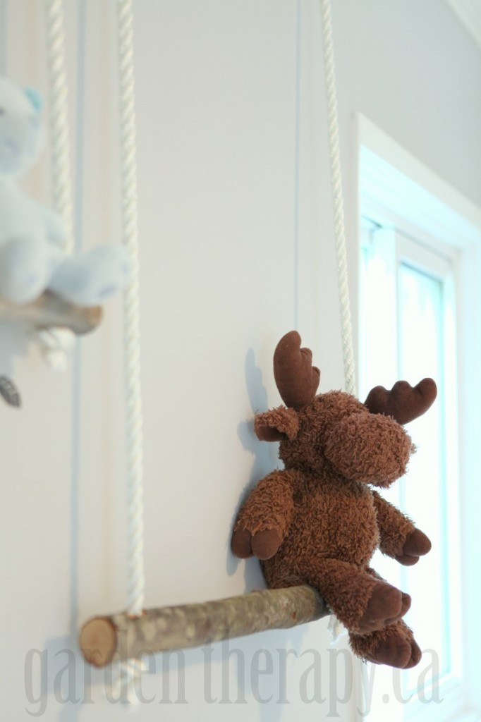 Stuffed Animal Shelves for Kids Rooms