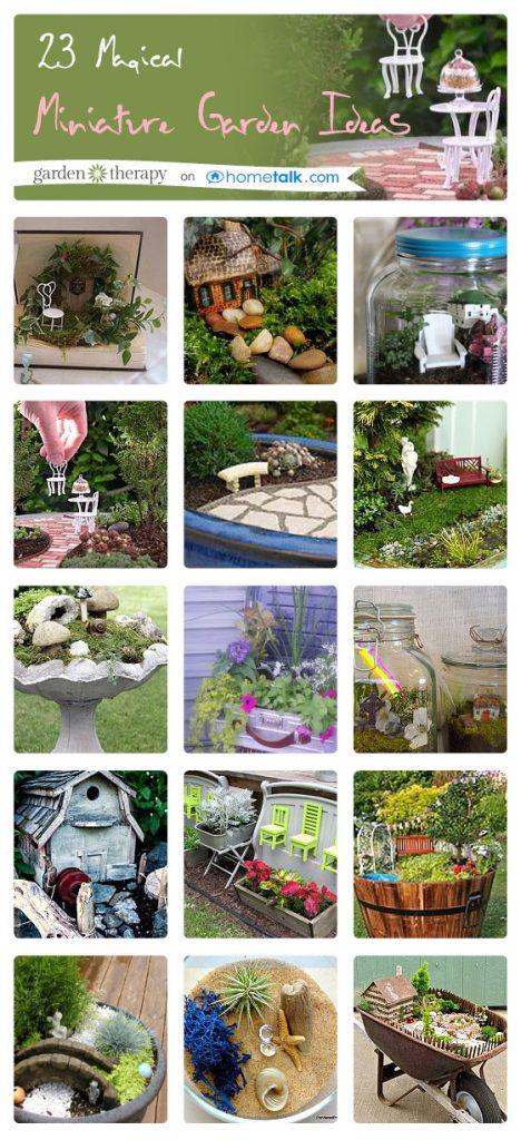 23 Magical Miniature Garden Ideas - Garden Therapy