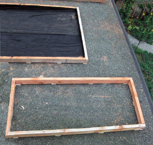 Box Construction for Green Roof Planters