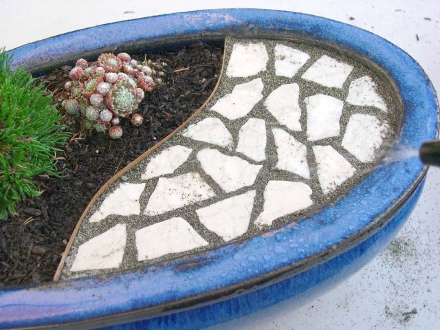 Mini Garden Patio Project Step 9