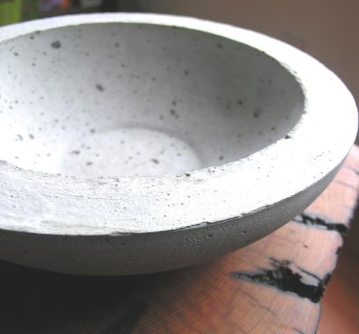 Modern Hypertufa Bowl