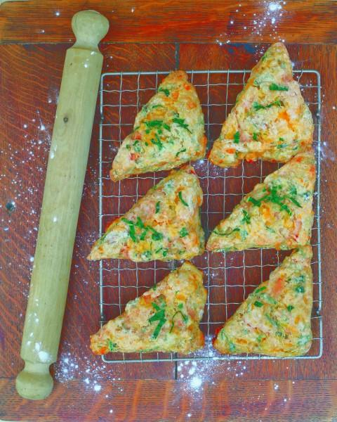 Savoury Kale Scones