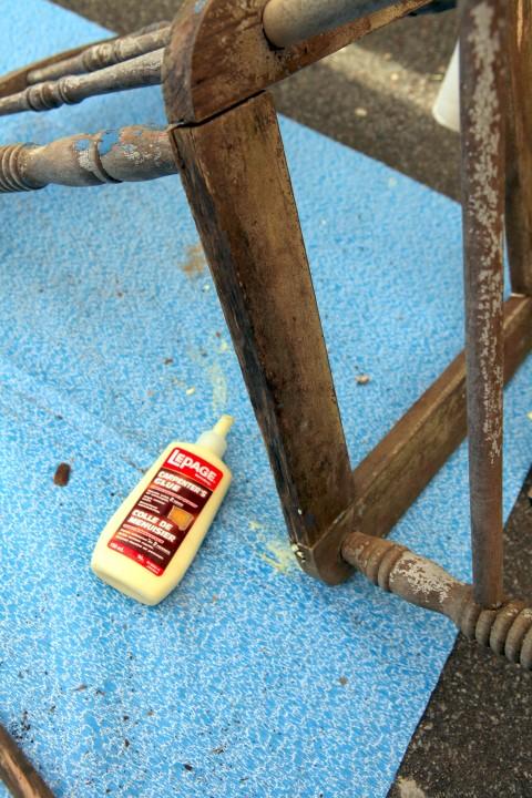 Using Wood Glue