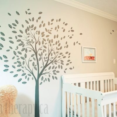 Woodland Theme Nursery Reveal