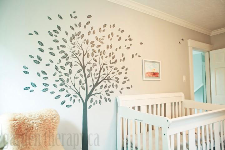 Woodland Theme Nursery Decor Small