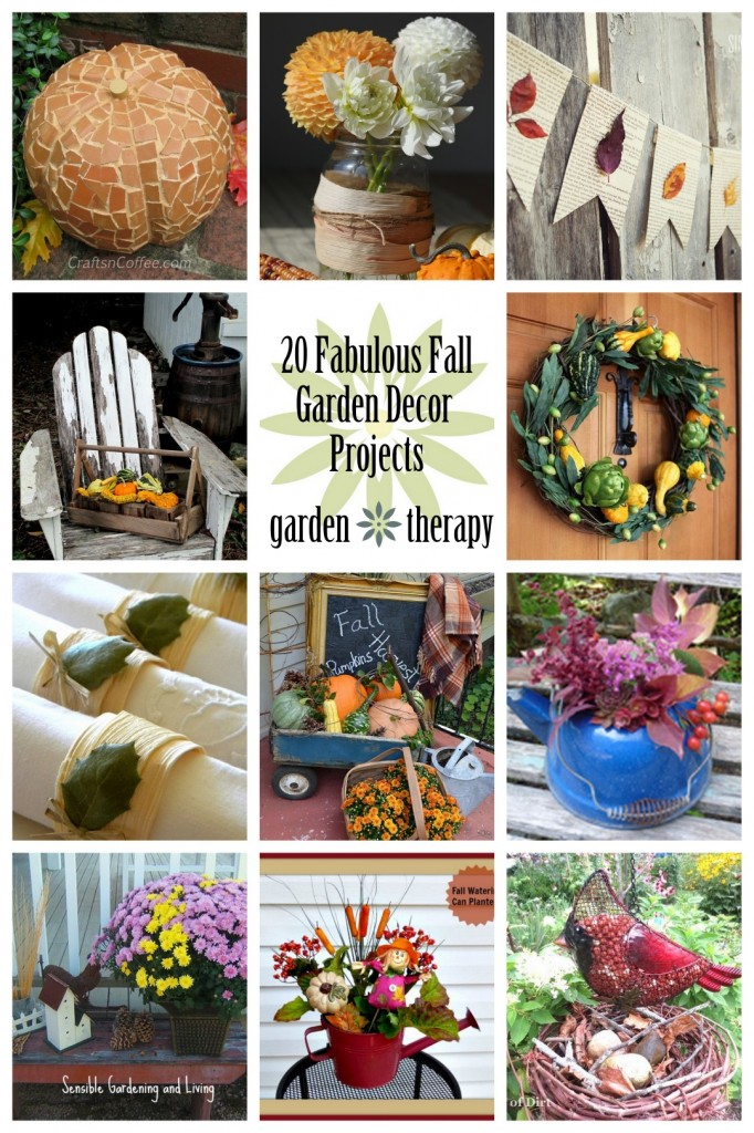 20 Fabulous Fall Decor and Craft Projects from the Garden