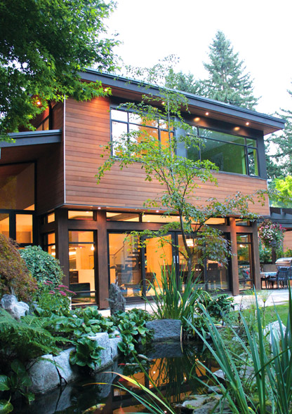 Geometric House Architecture by One SEED Architecture + Interiors Vancouver