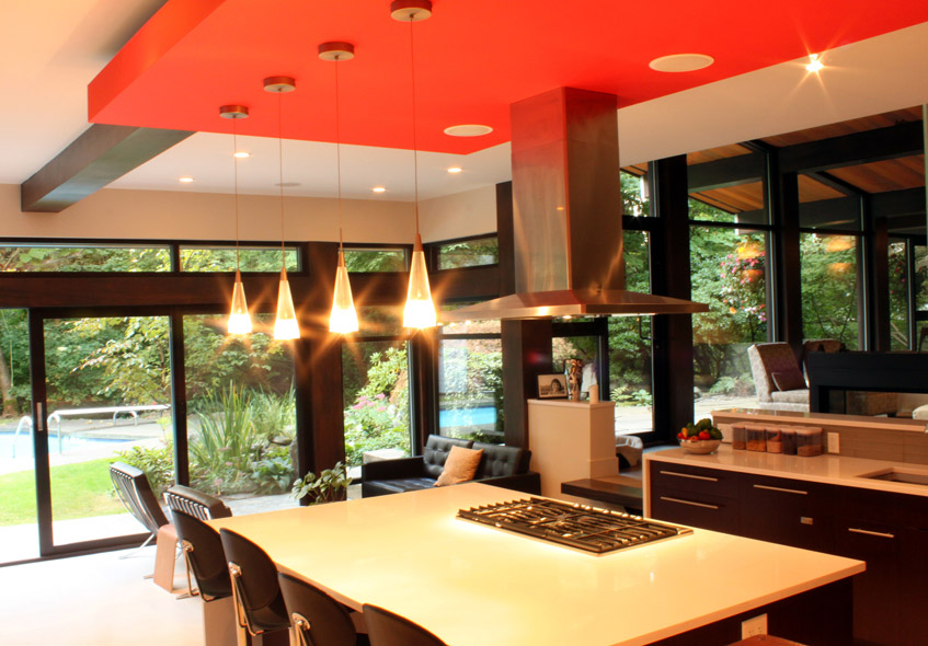 Modern Natural Kitchen Dining Outdoor