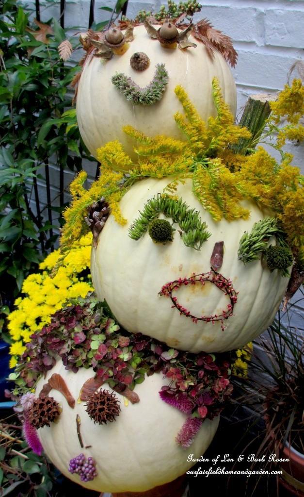 Topsy Turvy Pumpkin Heads