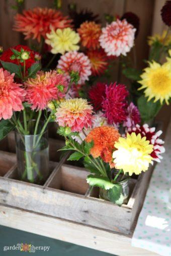 fresh cut floral arrangements