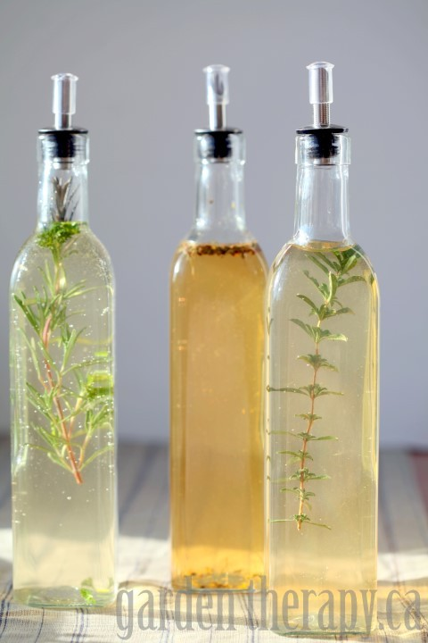 Herb Infused Vinegar Recipes