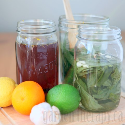 How to Make Infused Vinegar