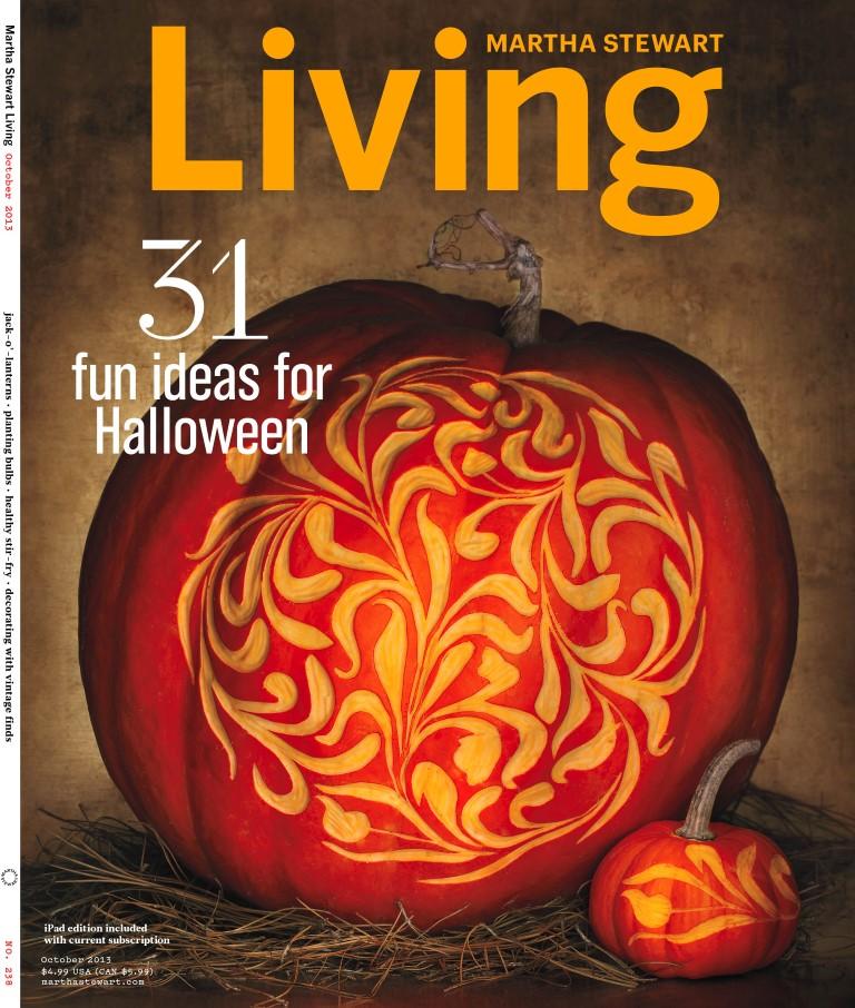 October Martha Stewart Living Cover