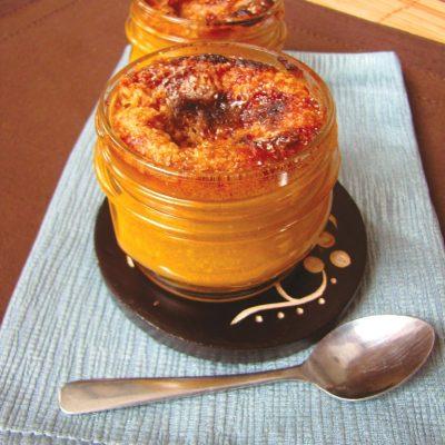 Vegan Pumpkin Crème Brûlée