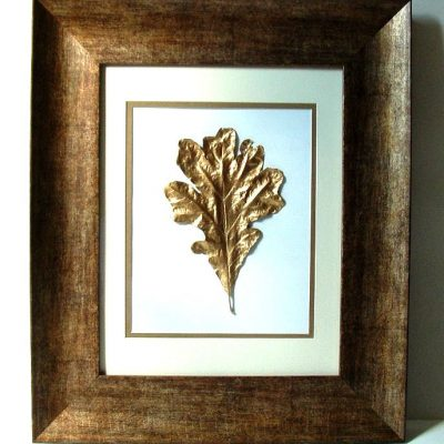 Bring the Outdoors In: Gold Leaf Leaves