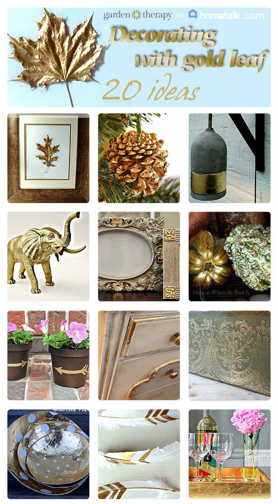 20 Gold Leaf Projects on Hometalk