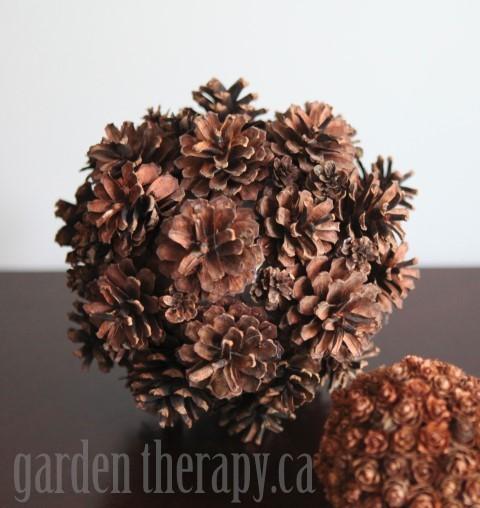 Decorative Pine Cone Balls