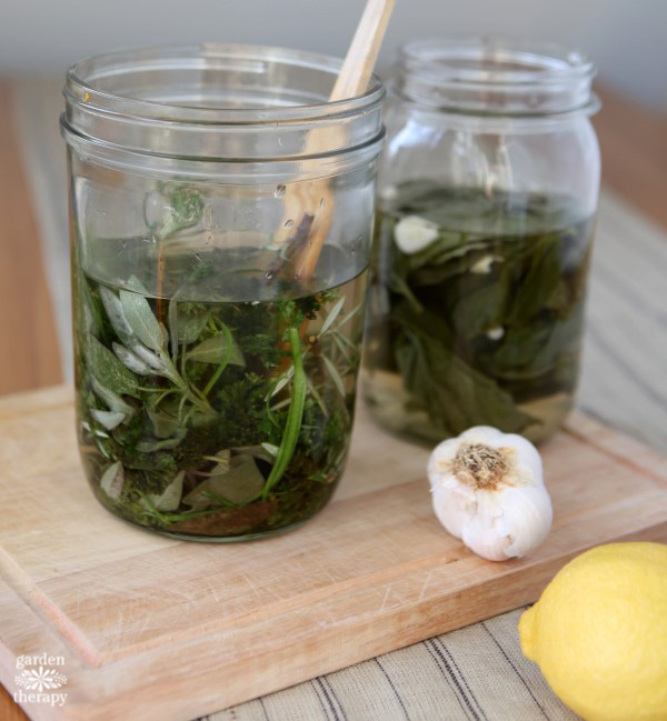 How to Make Herb Infused Vinegar