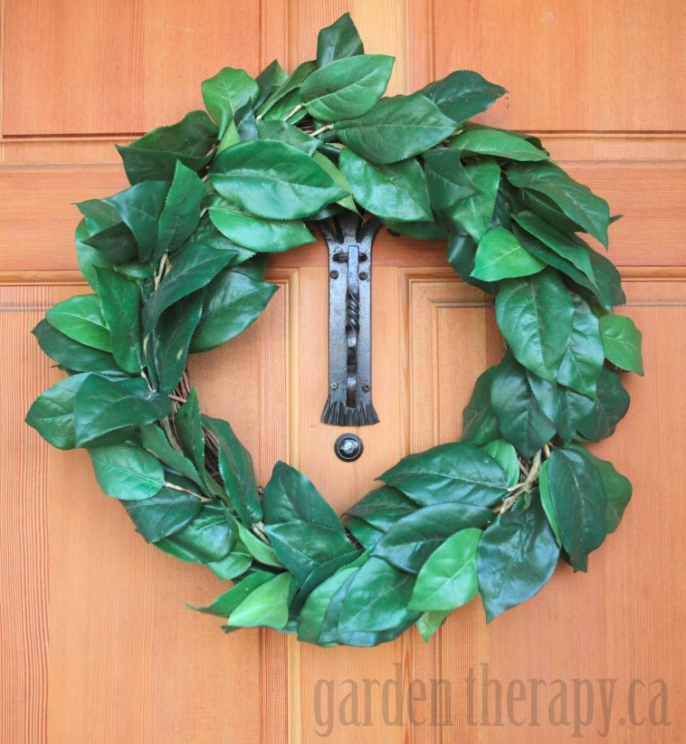 Laurel Wreath Before