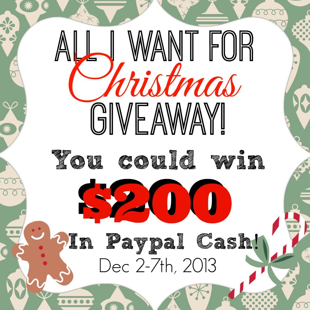 $200 Paypal Giveaway! Enter at www.gardentherapy.ca #giveaway #cash