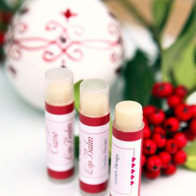 A Candy Cane Lip Balm Recipe for Sweet Sweet Lips this Christmas