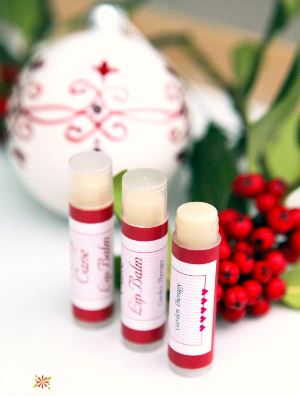 Delicious and Festive Candy Cane Lip Balm