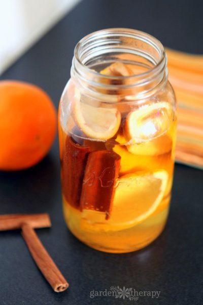 All-Natural Orange Cinnamon All-Purpose Cleaner Recipe