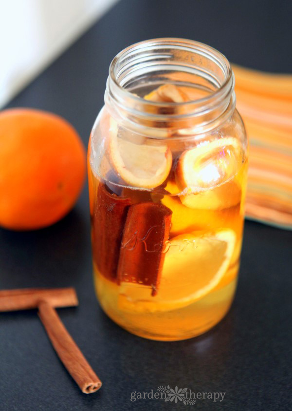 DIY cinnamon and orange all purpose cleaner recipe